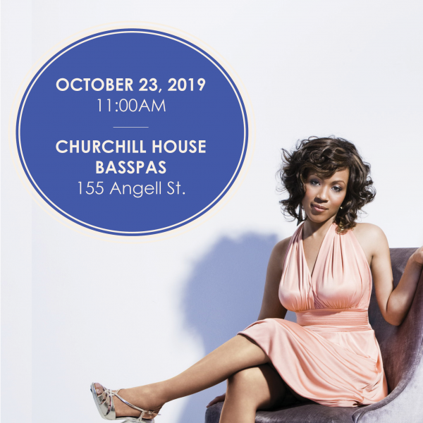 Dr. Charrise BarronSexy for Jesus: Contemporary Gospel Performance10/23, 11AM - Churchill House B...