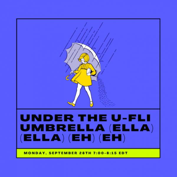 U-FLi Umbrella Graphic