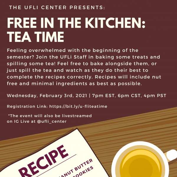 Free in the Kitchen: Tea Time