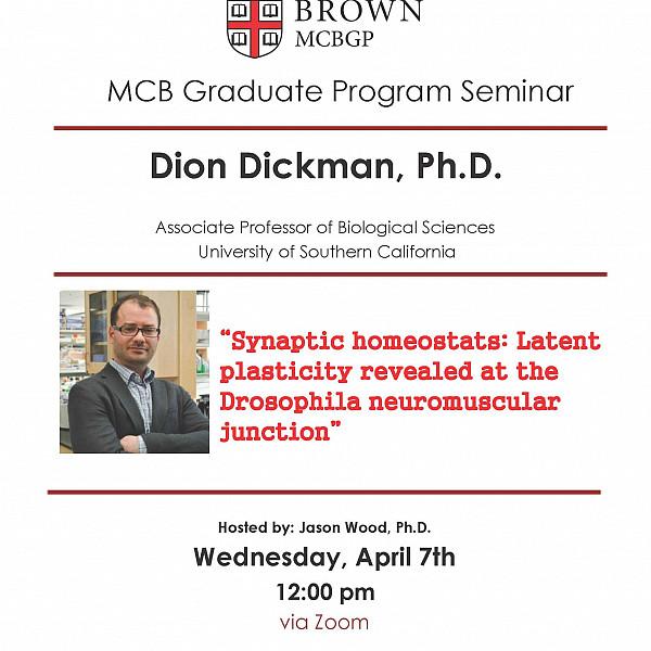 Dion Dickman, Ph.D. (University of Southern California)