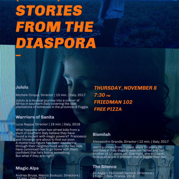 Five Short Films from the Diaspora