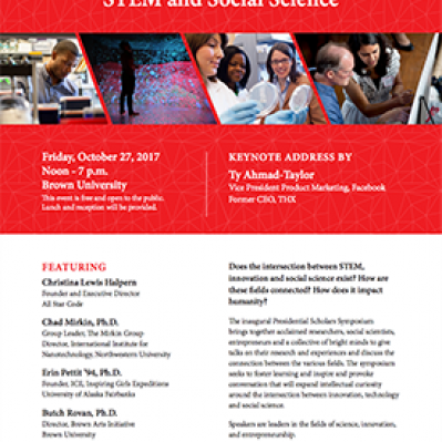 The Presidential Scholars Symposium