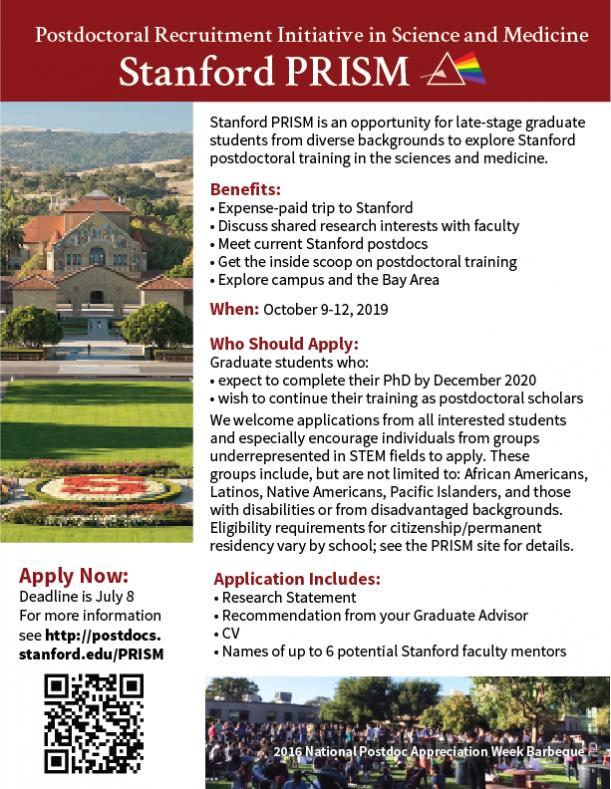 Stanford PRISM Flyer