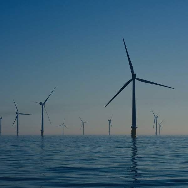 Offshore wind farm - photo by Nicholas Doherty
