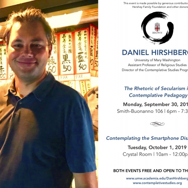 Daniel Hirshberg Lecture and Workshop