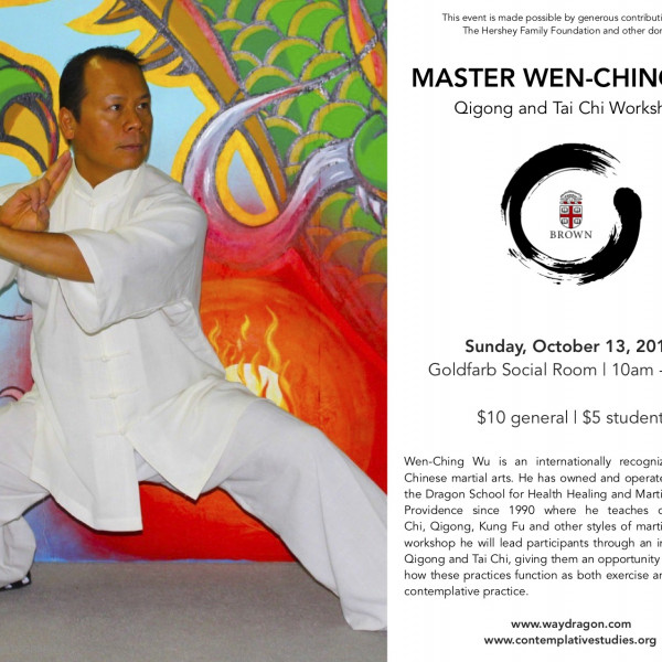 Workshop with Master Wen-Ching Wu