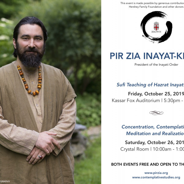 Lecture by Pir Zia Inayat Khan