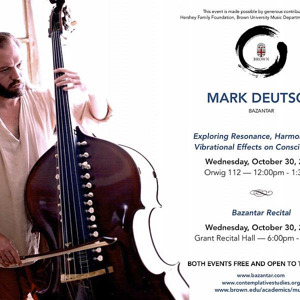 Lecture by Mark Deutsch