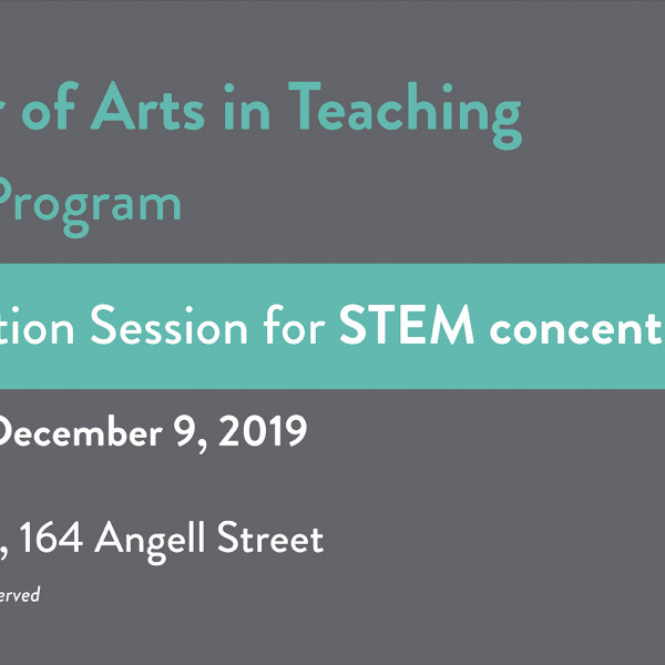 MAT STEM info session