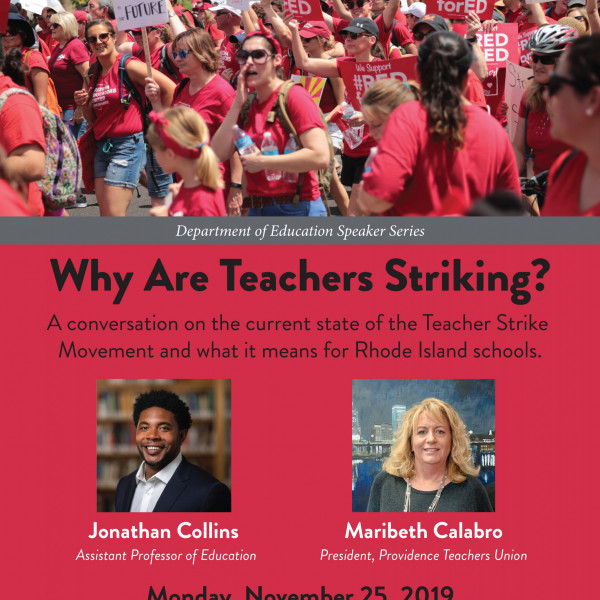 Why are Teachers Striking?