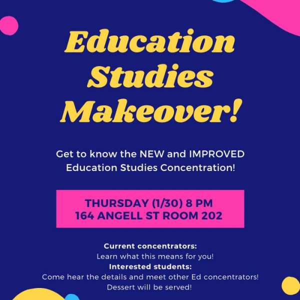 Education Studies Makeover!