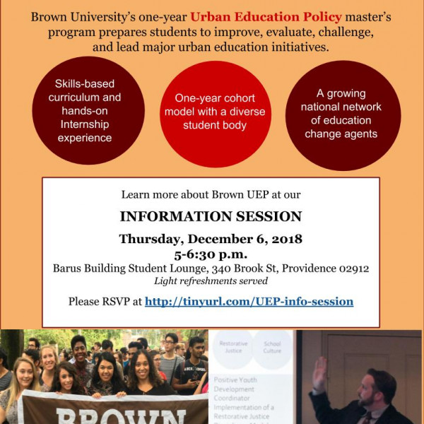flyer for 12-6-18 UEP info session