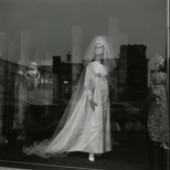 Harry Callahan American, 1912 - 1999, Providence, 1961, Gelatin silver print, 6.5 x 6.5 Bell Gallery, Gift of Dr. and Mrs. Joseph A. Chazan, Accession Number: PH 1996.51