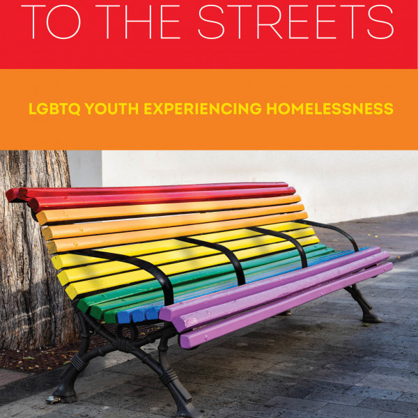 Book Cover Image for Brandon Andrew Robinson's Coming Out to the Streets. Features a picture of a...