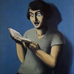 Rene Magritte, La Lectrice Soumise (1928)