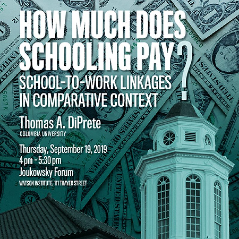 How Much Does Schooling Pay?
